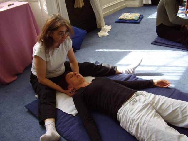 Shiatsu Demo, The Teaching Rooms, Cork